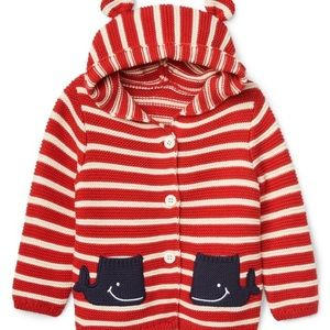 Baby gap Garters whale sweater